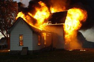 Масштабный пожар на Днепропетровщине (видео) - ФОТО