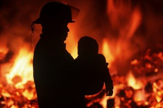 На Днепропетровщине в результате пожара пострадали два ребенка (видео) - ФОТО