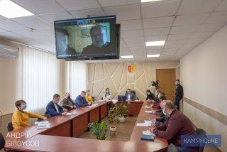 Мэр Каменского провел прием граждан по видеоконференцсвязи - ФОТО
