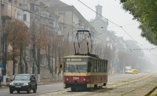 Завтра в Кменском трамвай № 2 сократит маршрут - ФОТО