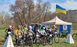В Каменском состоялся велокросс «Открытие сезона» - ФОТО